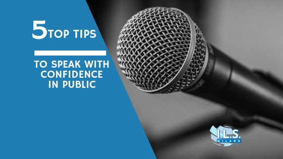 Top Tips – Speaking a second language in public