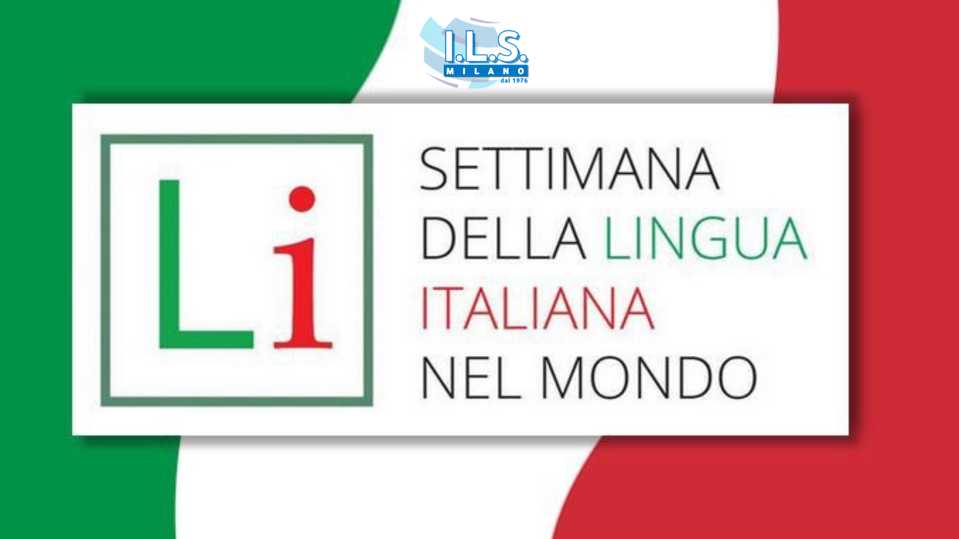 Italian Language Week from October 15th to 21st