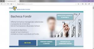 La bacheca Fondir ILS Milano per i corsi di lingua