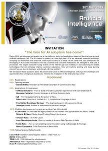 ai seminar 30 maggio may ils milano intelligenza artificiale artificial intelligence diana sheraton majestic milan corso inglese online voxy