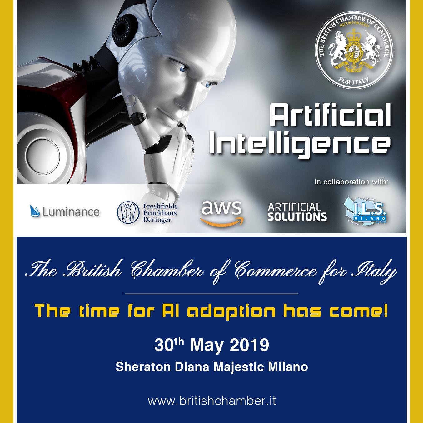 AI Seminar BCCI ils milano intelligenza artificiale artificial intelligence sheraton diana majestic milan voxy corso inglese online