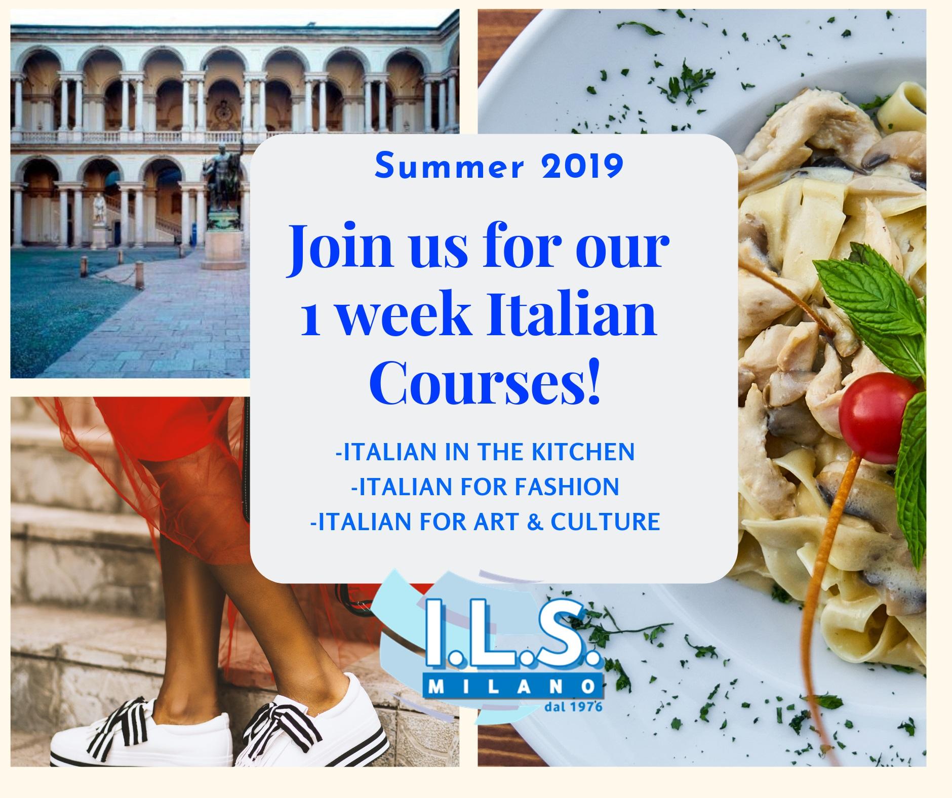 Italian 1 week courses ils milano italian language summer course learn italian in milan fashion art food