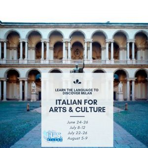 Italian for arts and culture intensive course ils milano italian course