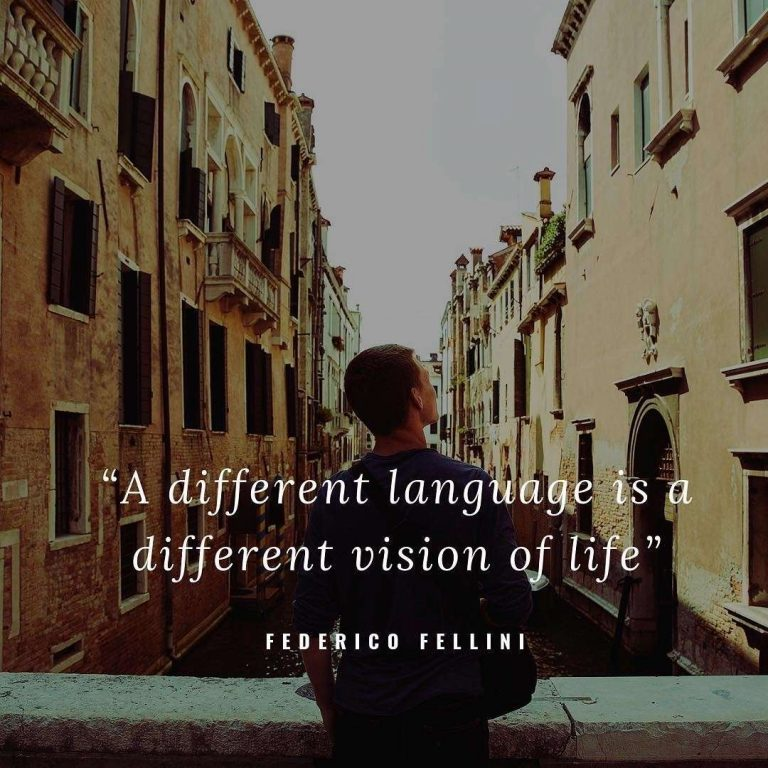 a different language is a different vision of life motivation for language learning ils milano learn italian italy