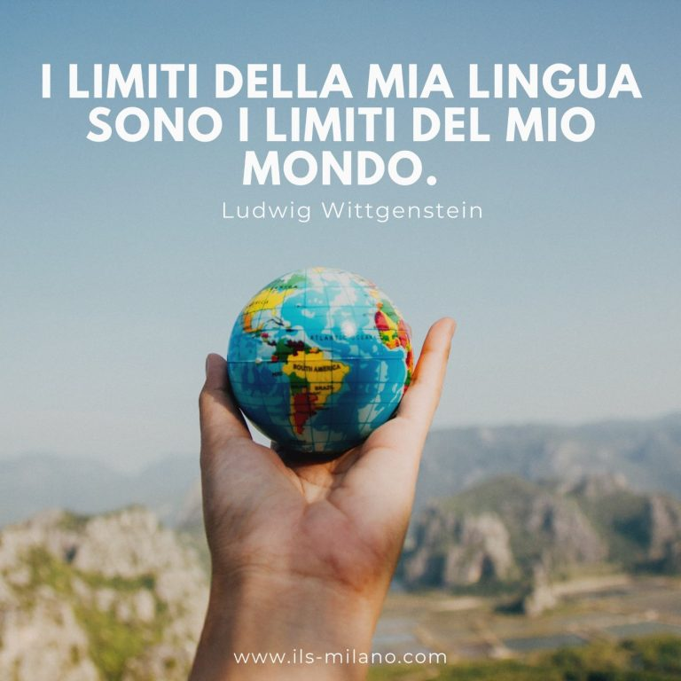i limiti della mia lingua sono i limite del mio mondo ils milano international language school ilsmilano imparare una lingua straniera corso inglese online