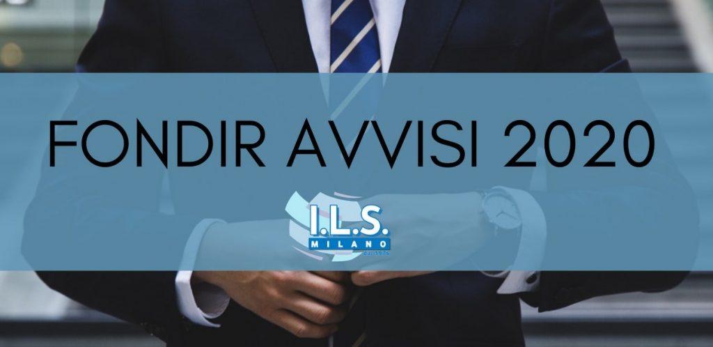 Fondir Avvisi 2020 ILS Milano Formazione finanziata big