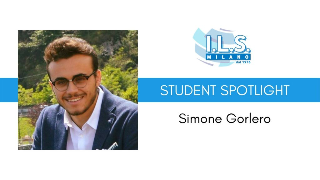 Student Spotlight Simone Gorlero HR ils milano international language school voxy human resources risorse umane