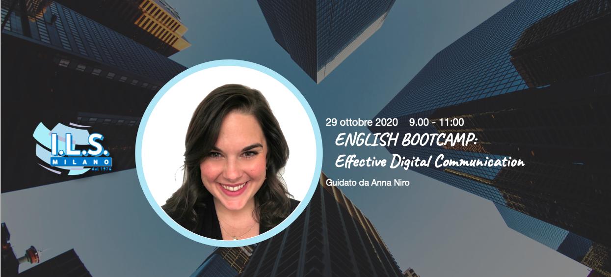 Effective digital communication inglese online, ILS Milano