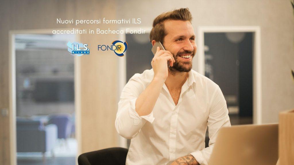 Novità in Bacheca Fondir ILS Milano corsi di lingua online 2021 dirigente